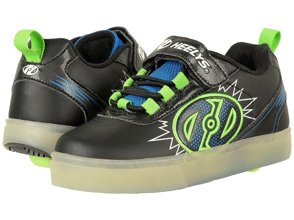 Heelys Pow X2 (Little Kid/Big Kid) (Black/Blue/Green) Boys Shoes