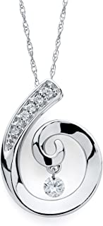 Best tiny diamond pendant Reviews