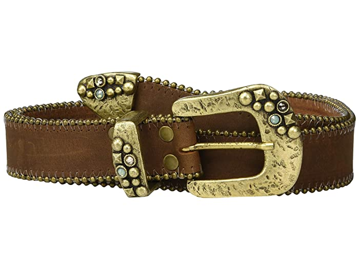 Leatherock Shane Belt (Tobacco) Women