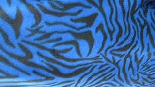 Best blue zebra stripe fabric Reviews