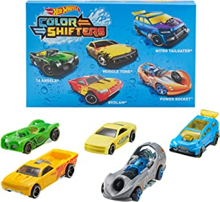 Hot Wheels 5 Car Pack Color Changing Toy Cars Use Warm and Cold Water For Transformation 1:64 Scale Ages 3 and Older Compa...