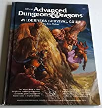Official Advanced Dungeons and Dragons: Wilderness Survival Guide