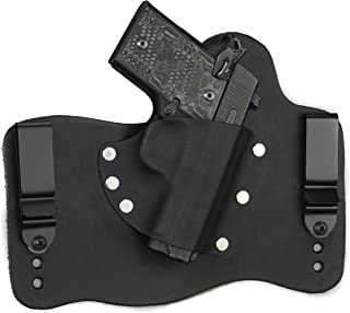 FoxX Holsters Compatible for Sig Sauer P938 in The Waistband Hybrid Holster Tuckable, Concealed Carry Gun Holster
