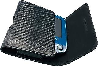 SEWAS Diabetic Care, Funda para medidores Freestyle Libre 1 y 2, funda para cinturón de glucosa en sangre, funda protectora de carbono, color negro