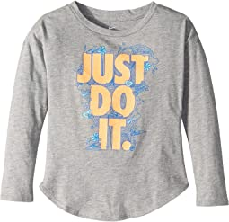 Doodle Just Do It Modern Long Sleeve Tee (Toddler)