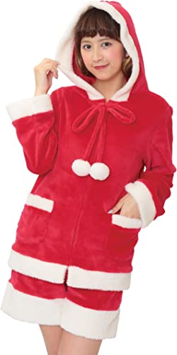 centro comercial de moda Sweet Soft pom-pom Parker Santa costume ladies 155cm 155cm 155cm  165cm  precios ultra bajos
