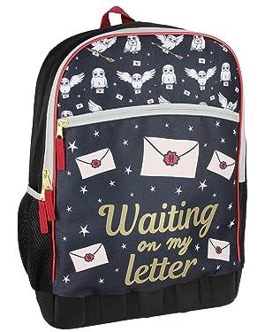 Harry Potter Hogwarts Hedwig Waiting On My Letter School Backpack