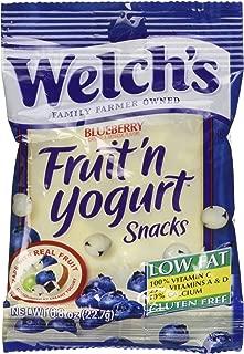 Welch's Blueberry Fruit'n Yogurt Snacks,2-Pack, 16-0.8oz pouches