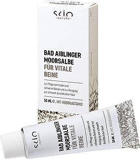 SCIO Bad Aiblinger Moorsalbe für vitale Beine, BDIH-konform, 50 ml