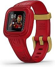 Garmin vívofit jr. 3 - Smart armband voor kinderen, Iron Man, leeftijd 6 jaar, 010-02441-11, Rood