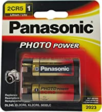 Panasonic 6-Volt Photo Lithium Cylinder Battery (2CR5MPA1B) (2CR-5MPA1B)