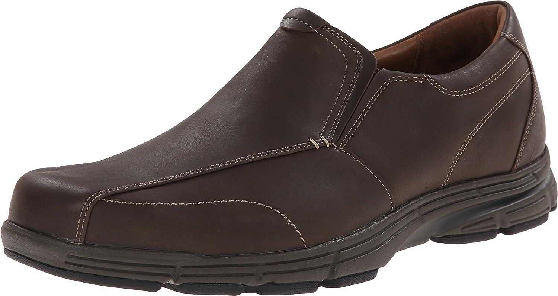 Dunham Men's Revsaber Slip-On Loafer,Brown,10.5 D US