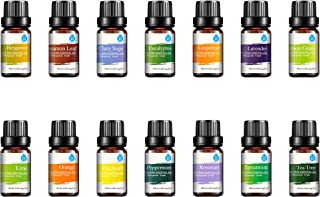 Pursonic 100% Pure Essential Aromatherapy Oils Gift Set-14 Pack - 10ML