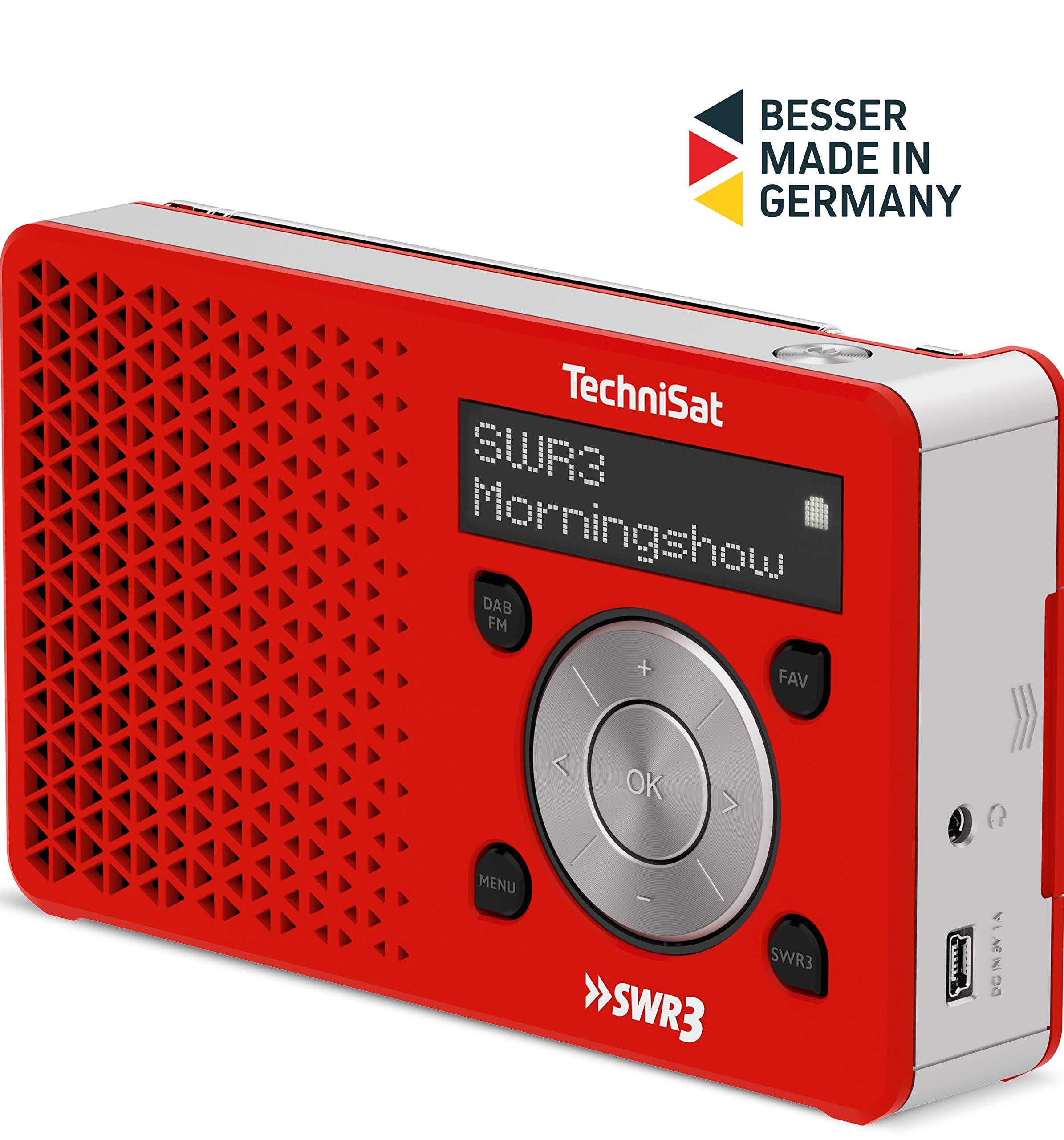 TechniSat Digit - Radio (Personal, Digital, Dab+,FM, 18,18-18 MHz, 18-18  MHz, Exploración automática)