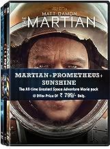 3 Movies Collection: The Martian + Prometheus + Sunshine