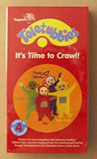Teletubbies Its Time to Crawl! VHS (2004)