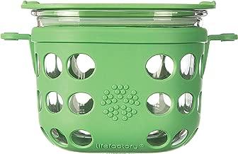 contenedor de almuerzo sin BPA Fiambrera rectangular de acero inoxidable a prueba de fugas 3//4//7//10//12 L contenedores de almacenamiento de alimentos con tapas 3 L plata Feli643Bruce