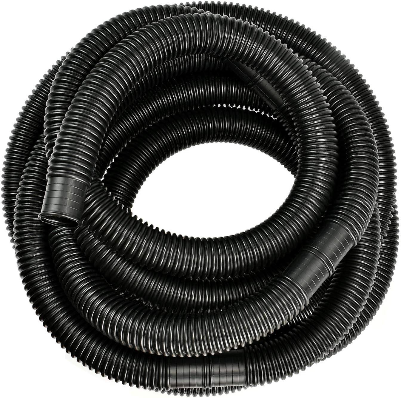 KATELUO Manguera de Piscina 6.3m (Negro)