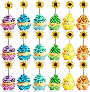 Best sunflower cupcake topper Reviews