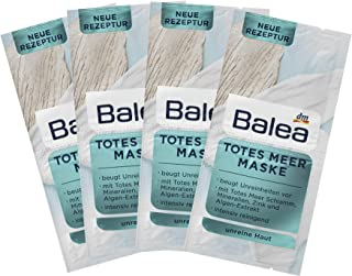 Balea Dead Sea Mask - Intensive Care with Dead Sea Mud, Minerals, Zinc, Seaweed Extract, Camomile Extract and Panthenol 8 ...
