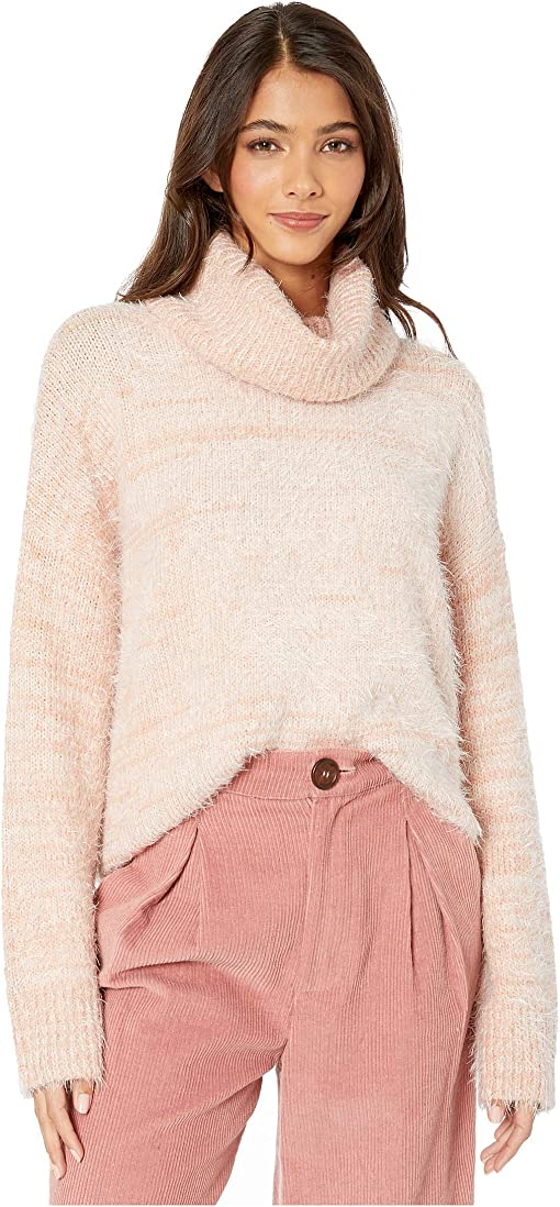 Fuzzy Pink Knit