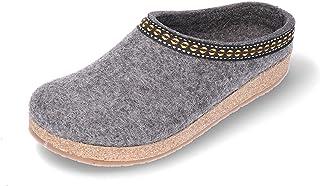 TEPU | novità | Pantofole da Donna Feltro di Lana Sughero Fatto a Mano qualità Comfort Design | Taglie: 36-41