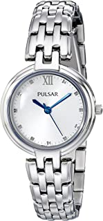 Pulsar Women's PH8125 Analog Display Analog Quartz Silver Watch