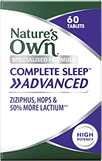 Nature's Own Complete Sleep Advanced - Calms Nerves - Promotes Sleep - Alleviates Stress - For Insomnia and Sleep