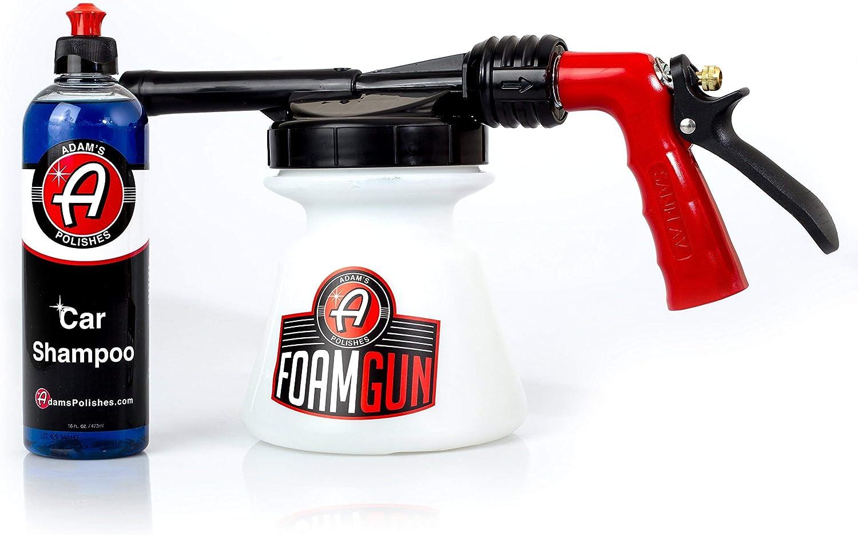 Adam's Standard Foam Gun Car Max 61% OFF Bundle Shampoo Wash - Excellent