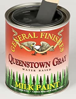 General Finishes Queenstown Gray Milk Paint 1 Quart