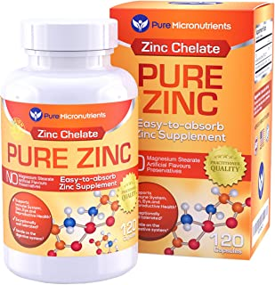 acne zinc supplement by Pure Micronutrients