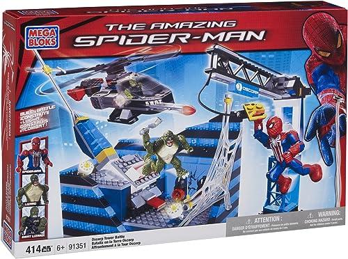 Mega Bloks 91351 - Spiderman 4 Oscorp Tower Battle