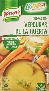 Knorr Ligeresa - Crema de Verduras de la Huerta, 500 ml