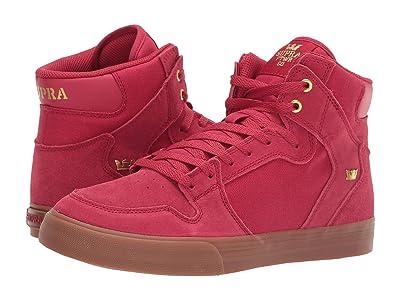 Supra Vaider (Rose/Gold/Light Gum) Skate Shoes