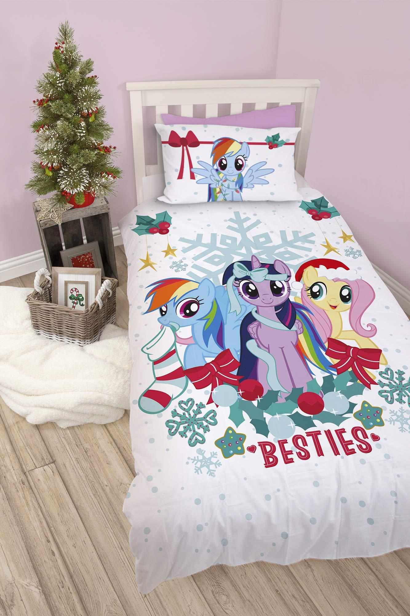 Copripiumino My Little Pony.Character World My Little Pony Duvet Cover Set Multi Coloured