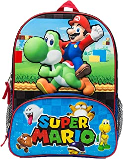 Mario Backpack With Molded Eva Front Backpack