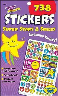 トレンド ごほうびシール スマイル バラエティセット 738片 Trend Sticker Pad Super Stars & Smiles T-5010