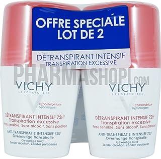 Vichy Anti-transpirante Intensivo 72 H Transpiración Excesiva Lote de 2 x 50 ml