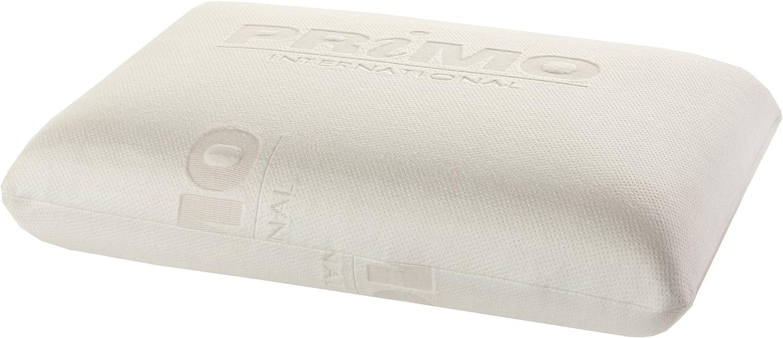Primo International 33795 Sophia Molded Memory Foam Pillow, Beige, King