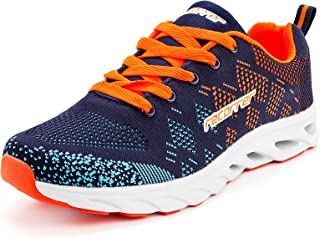 recorrer Zesty Lace-up Orange Casual Sports Running Shoes