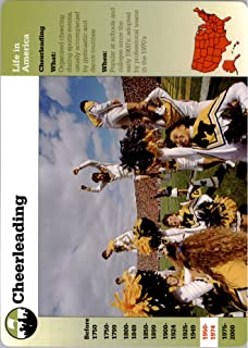 1994-01 Story of America Collectible Card #74-11 Cheerleading -