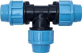 Raccord r/éducteur de compression en plastique MDPE m/âle 3//4 x 32 mm
