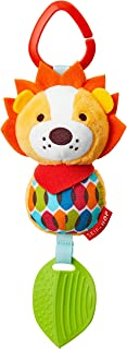 Skip Hop Bandana Buddies Baby Activity Chime & Teether Stroller Toy, Lion