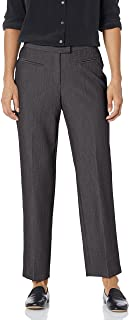 Ruby Rd. Women's Petite Flat-Front Easy Stretch Pant