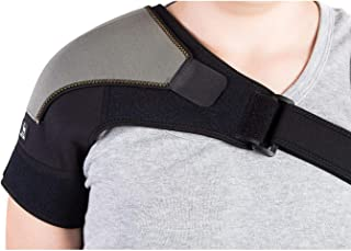 Shoulder Brace for AC Joint & Tendinitis | Shoulder Support for Pain Relief & Injury Prevention | Compression Shoulder Ice...