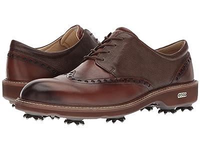 ECCO Golf Golf Lux (Bison/Stone) Men