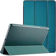 ProCase Coque pour Samsung Galaxy Tab A T510/T515 10.1 en 2019, Housse Étui de Protection Léger avec Support Fonction pour Galaxy Tab A SM-T510 SM-T515 10.1 Pouces-Bleu Canard