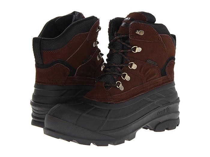Kamik  Fargo (Dark Brown) Mens Cold Weather Boots