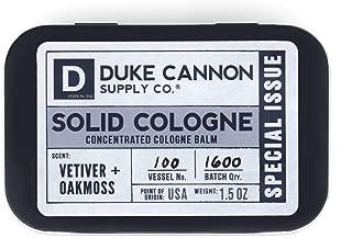 Duke Cannon Solid Cologne Special Issue - Vetiver + Oakmoss