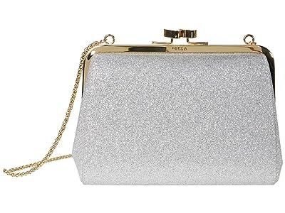 Furla Evening Mini Clutch (Argento) Handbags